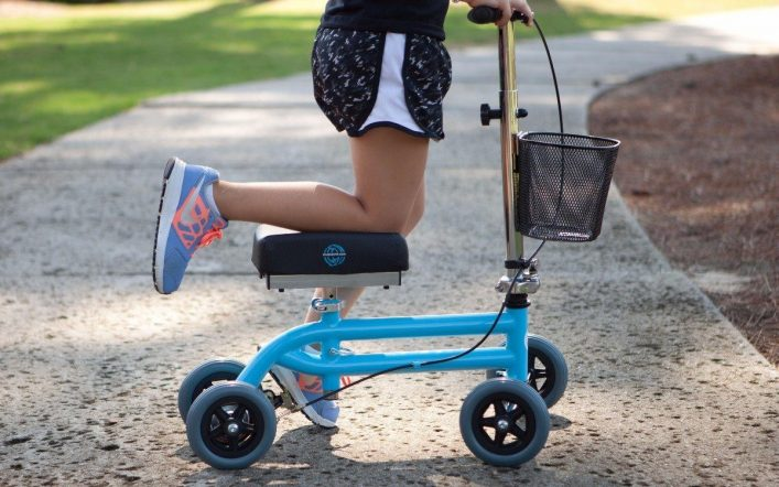 Everything You Need to Know to Get Started With a Knee Scooter